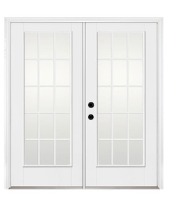 Southwest Vinyl Windows French style patio doors